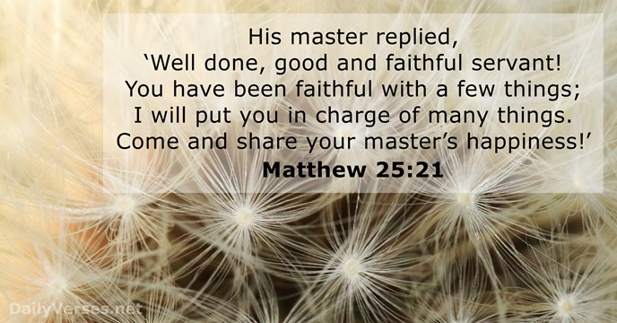 33rd Sunday in Ordinary Time
